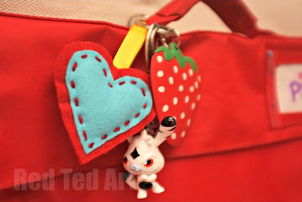 heart Key Ring Craft