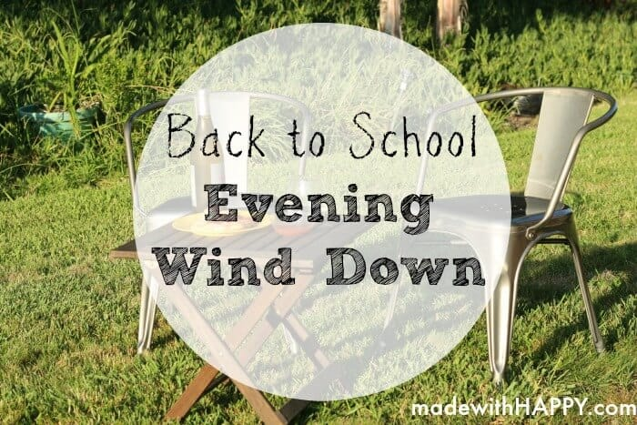 Back-to-School-Evening-Wind-Down
