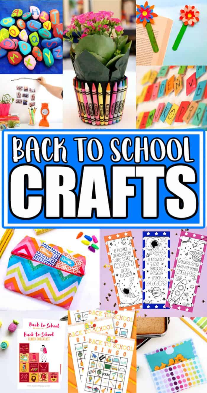 back to school crafts for preschoolers
