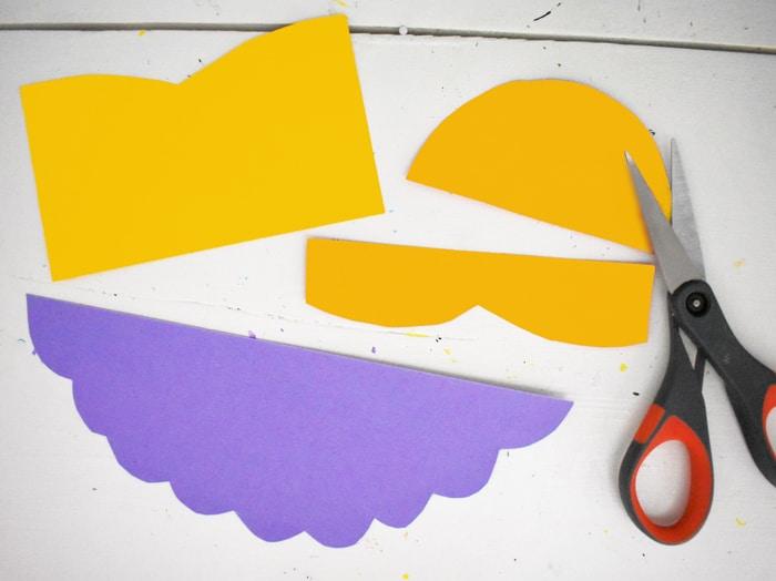 cut template of ballerina
