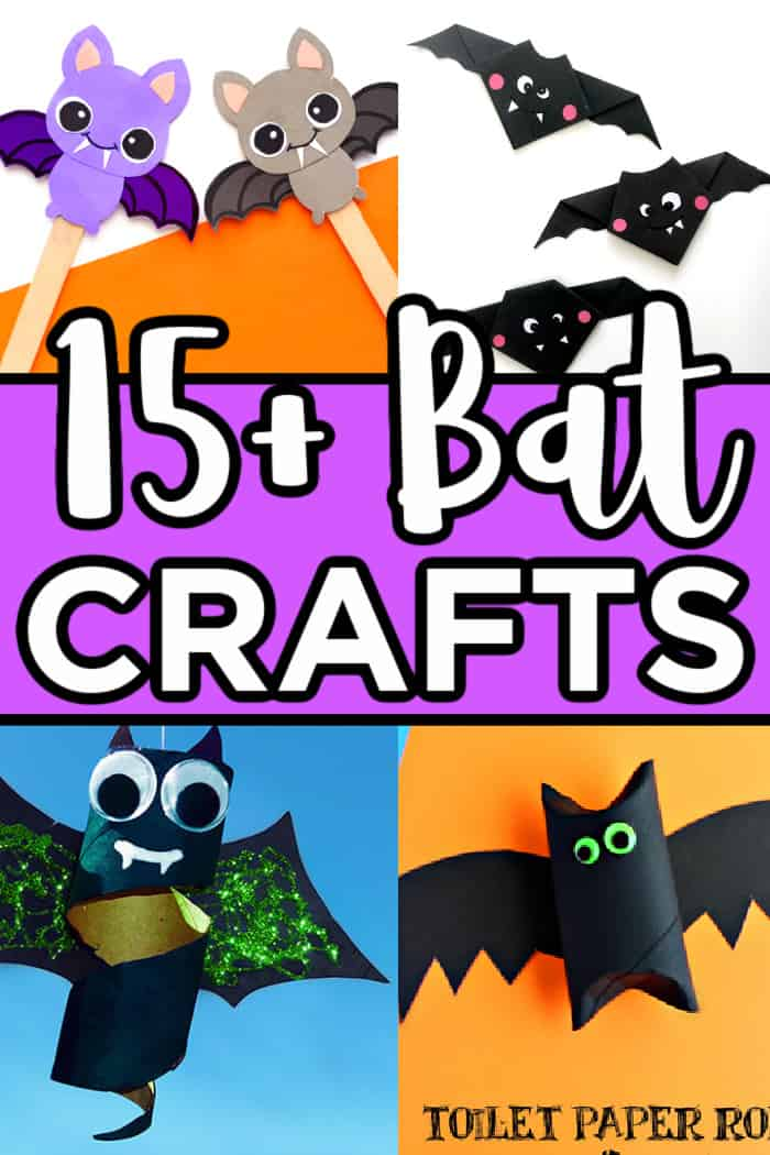 Kids Bat Crafts