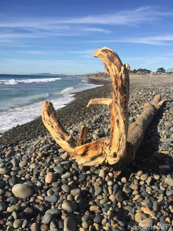 Happy New Year | The sky is the limit | Beach Driftwood |www.madewithHAPPY.com