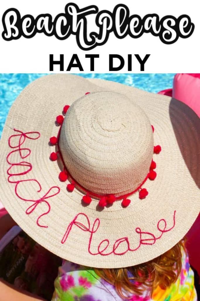 Beach Please Hat
