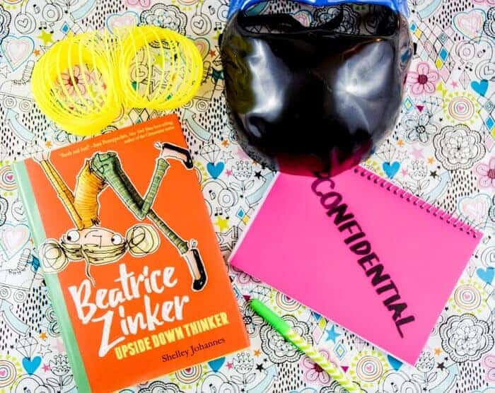 Looking for a new book for your young girl chapter book reader?  Check out this new book Beatice Zinker, Upside Down Thinker.  Its a mix of friendship, being yourself, and turning thing sunny side up.