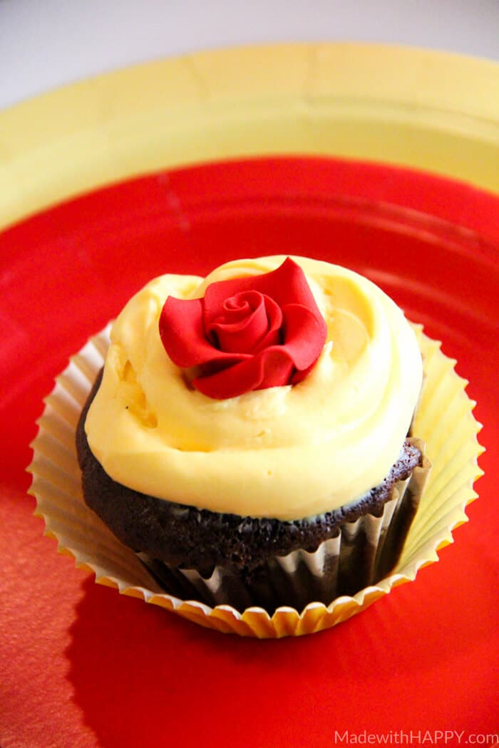 Disney's Beauty and the Beast Movie Night   Beauty and the Beast Party   Beauty and the Beast themed party ideas   Beauty and the Beast Tea Party   Beauty and the Beast Invites   www.madewithhappy.com