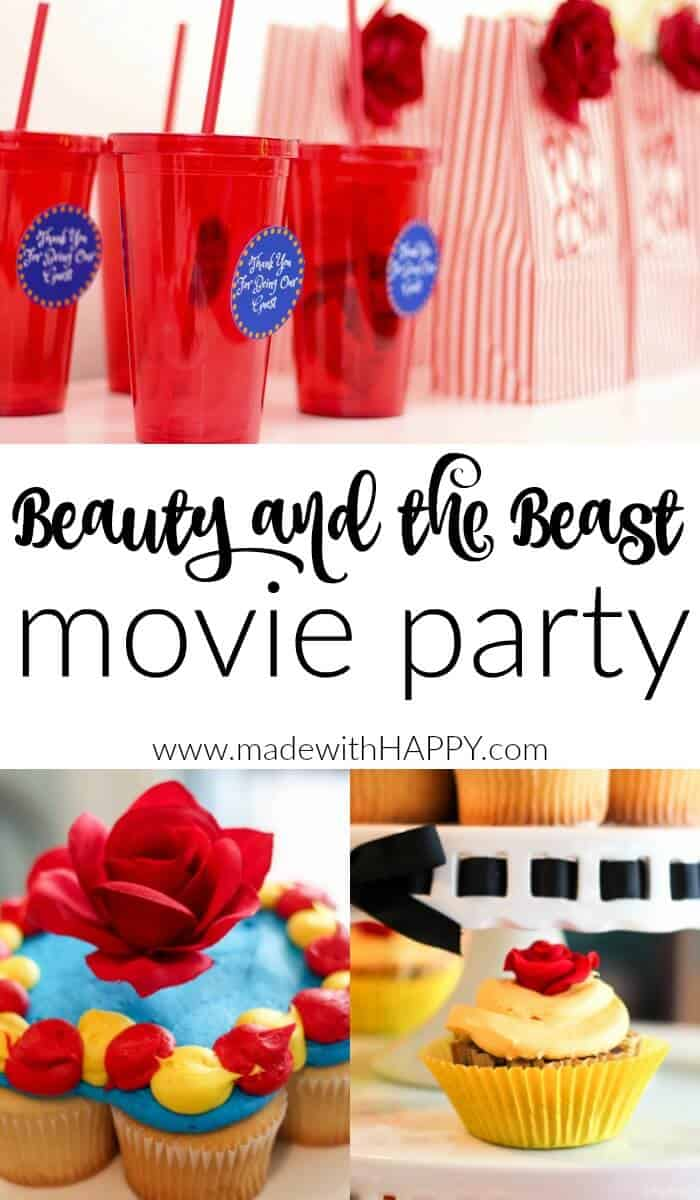 Beauty and the Beast Movie Party. Be our guest pritnables