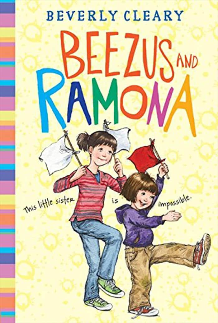 Beezus and Ramona. Top 10 Chapter Books for young readers. We're sharing our top picks for young readers that are looking for some great chapter books. www.madewithhappy.com
