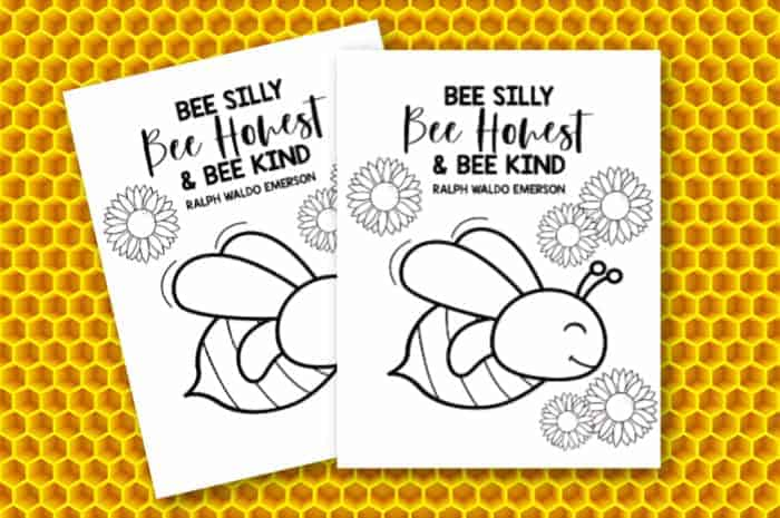Bee Coloring Pages - Free Printable Coloring Pages For Kids