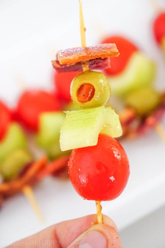 The ultimate bloody Mary Bites