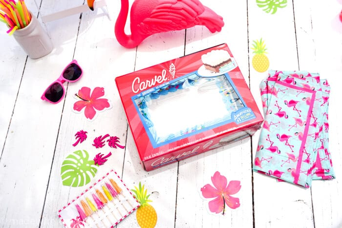 There are 5 key things to remember when hosting a HAPPY Summer celebration.   Hosting a Summer Party   Ice Cream cake parties   Summer Celebration with Ice Cream Cakes   Flamingo Summer Parties   www.madewithhappy.com
