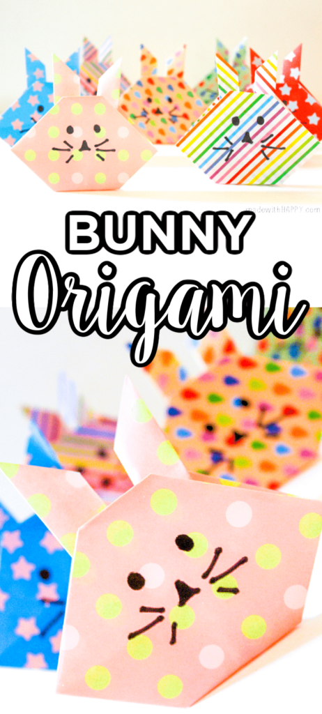 Bunny Origami Easy
