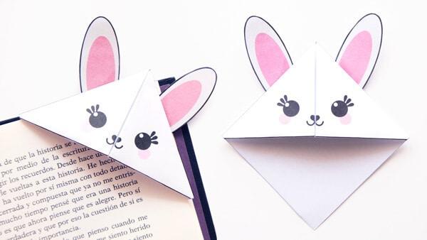 Bunny Corner Bookmarks