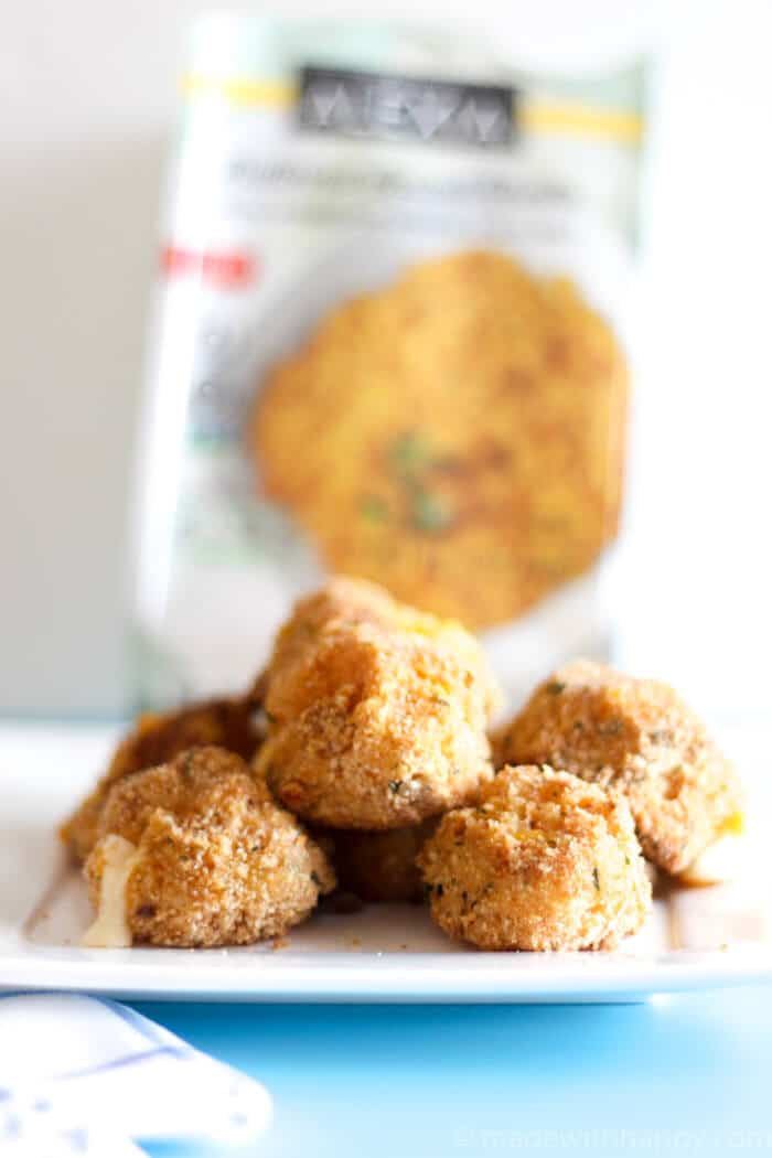 Cheesy Butternut Squash Risotto Balls