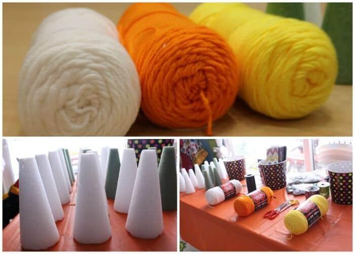 Candy-Corn-Yarn-Trees-5