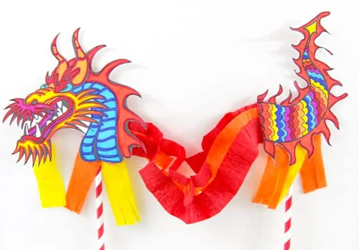 Chinese Dragon Puppet for kids