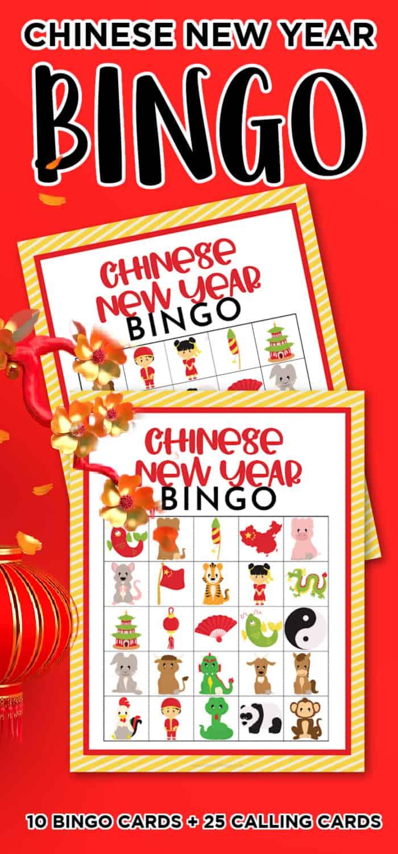 Chinese New Year Family Bingo Game