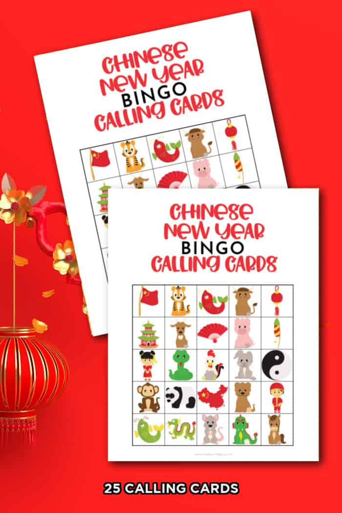 Chinese New Year Calling Cards