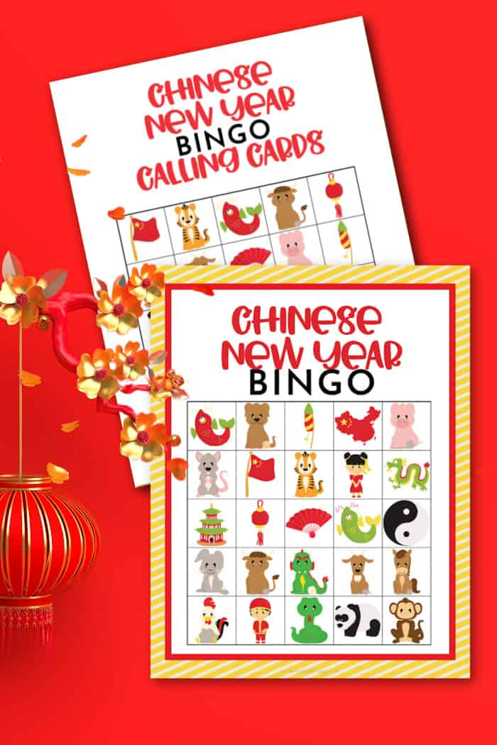 Bingo Fun For Chinese New Year