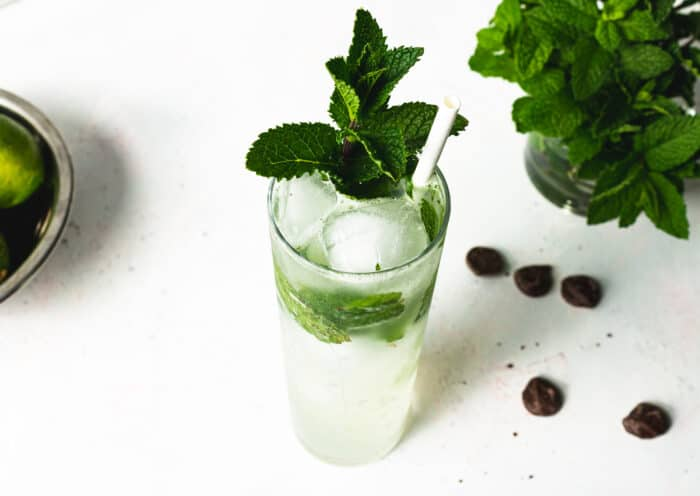 Chocolate Mint Cocktail
