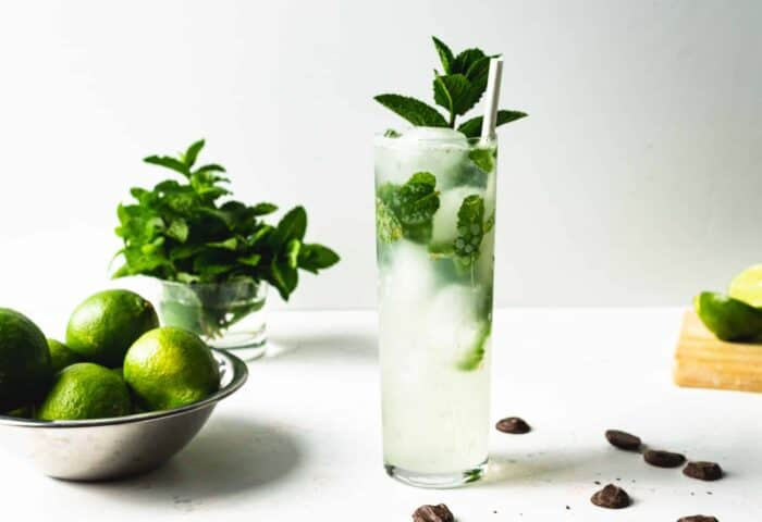 Mint Cocktail