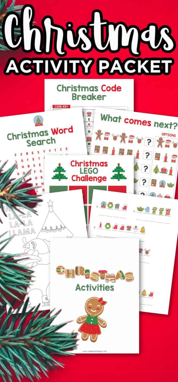 Printable Christmas Packet