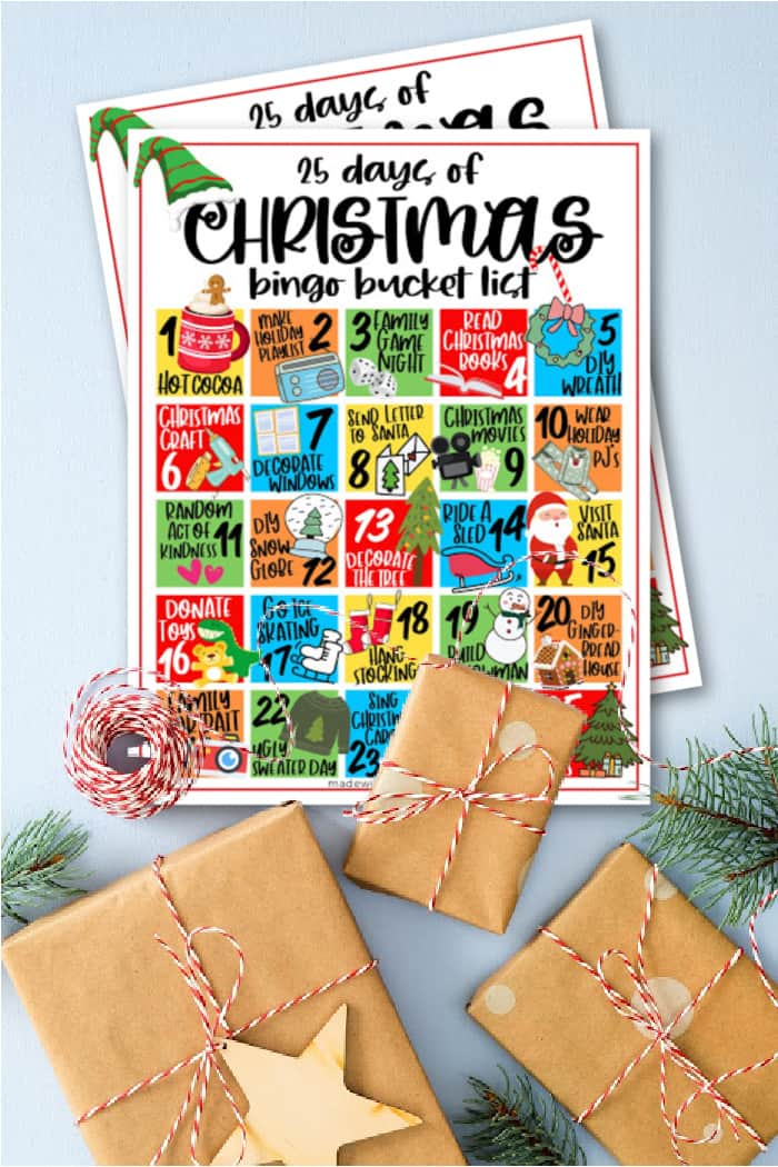 Family Fun Christmas Bucket List