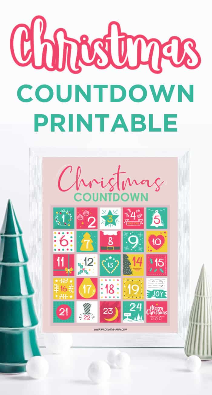 Advent Christmas Countdown