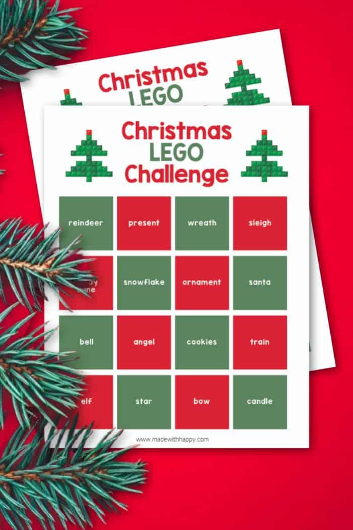 Christmas Lego Challenge