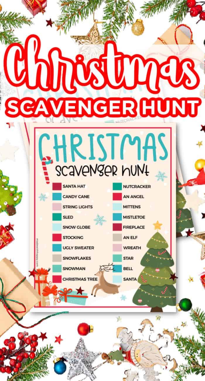 Christmas Scavenger Hunt Garm
