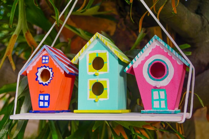 Kids Birdhouses