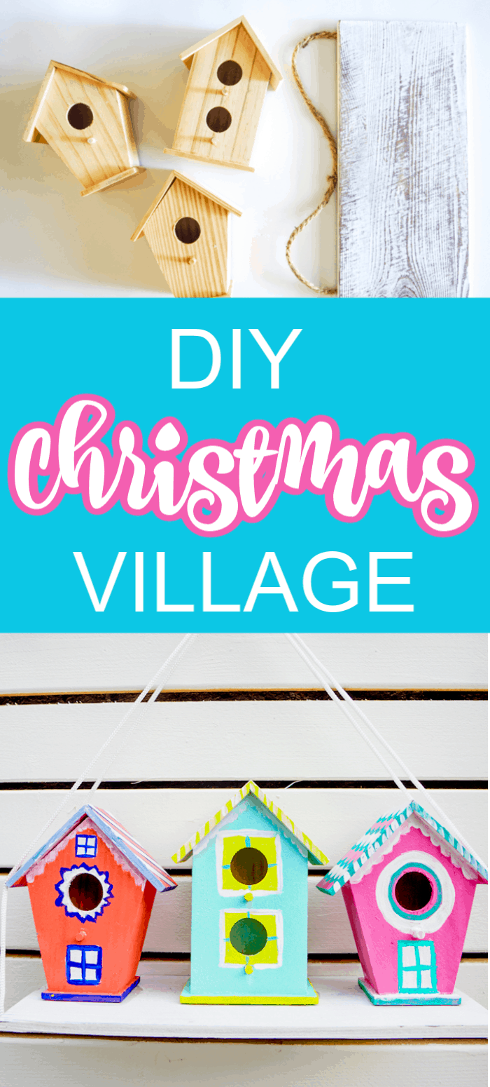Kids Christmas Village