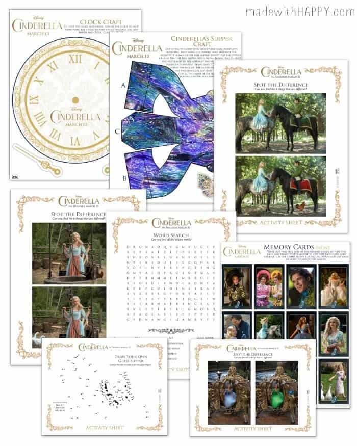 Cinderella-Activity-Sheets