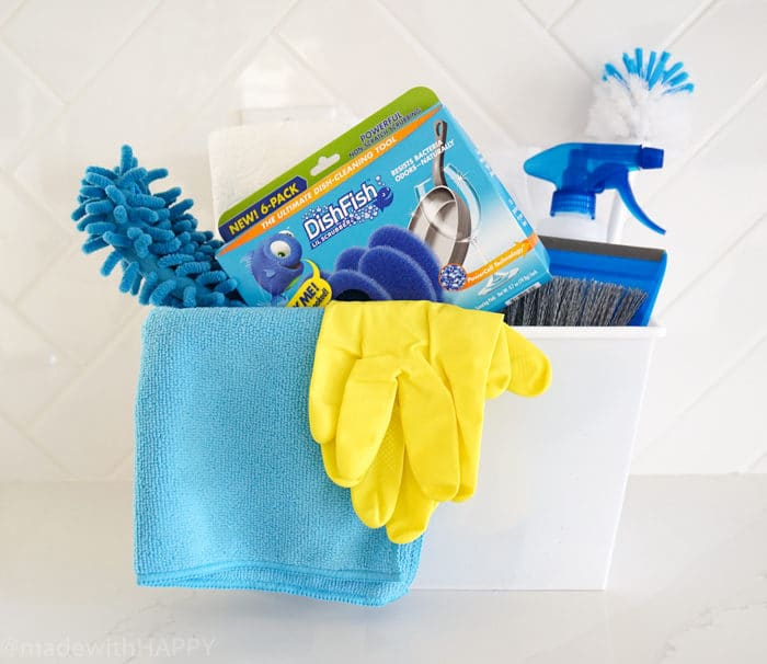 Cleaning Care Package. DIY College Care Package. We're putting together a fun college care package for the college student that might need a little help in the cleaning department. Cleaning College Care Package is now my new favorite care package idea because who doesn't want a roommate that is clean?
