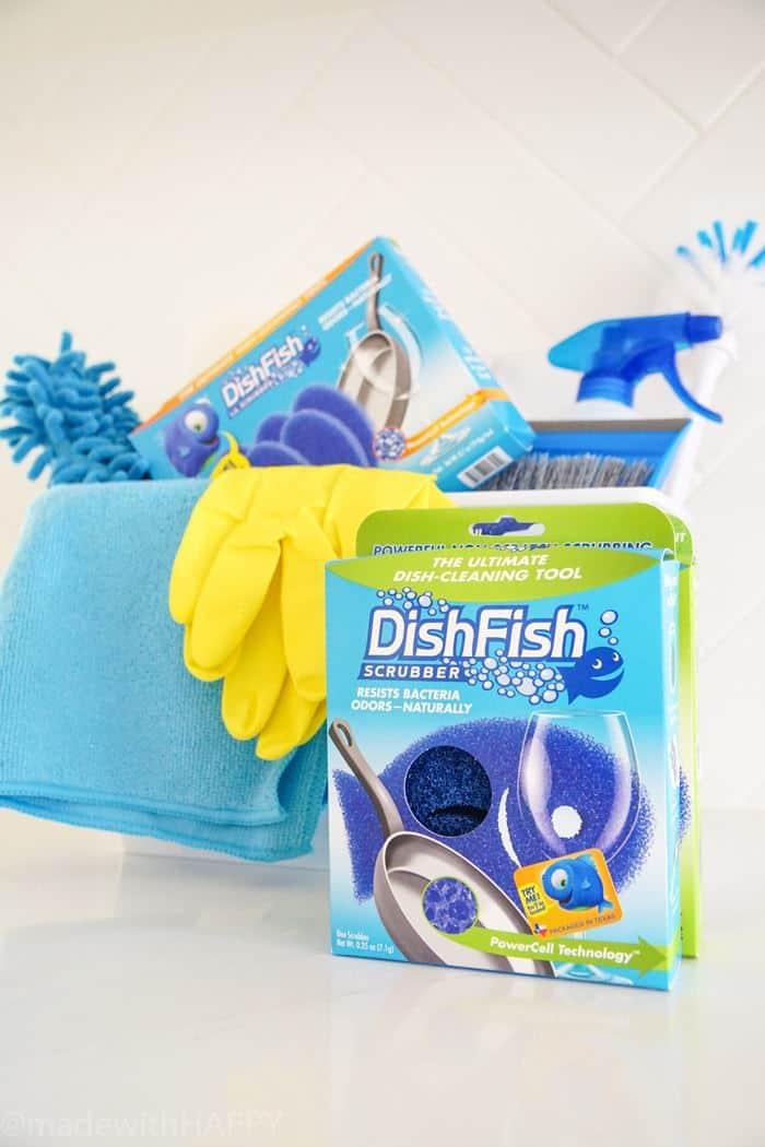 DishFIsh Sponges making cleaning