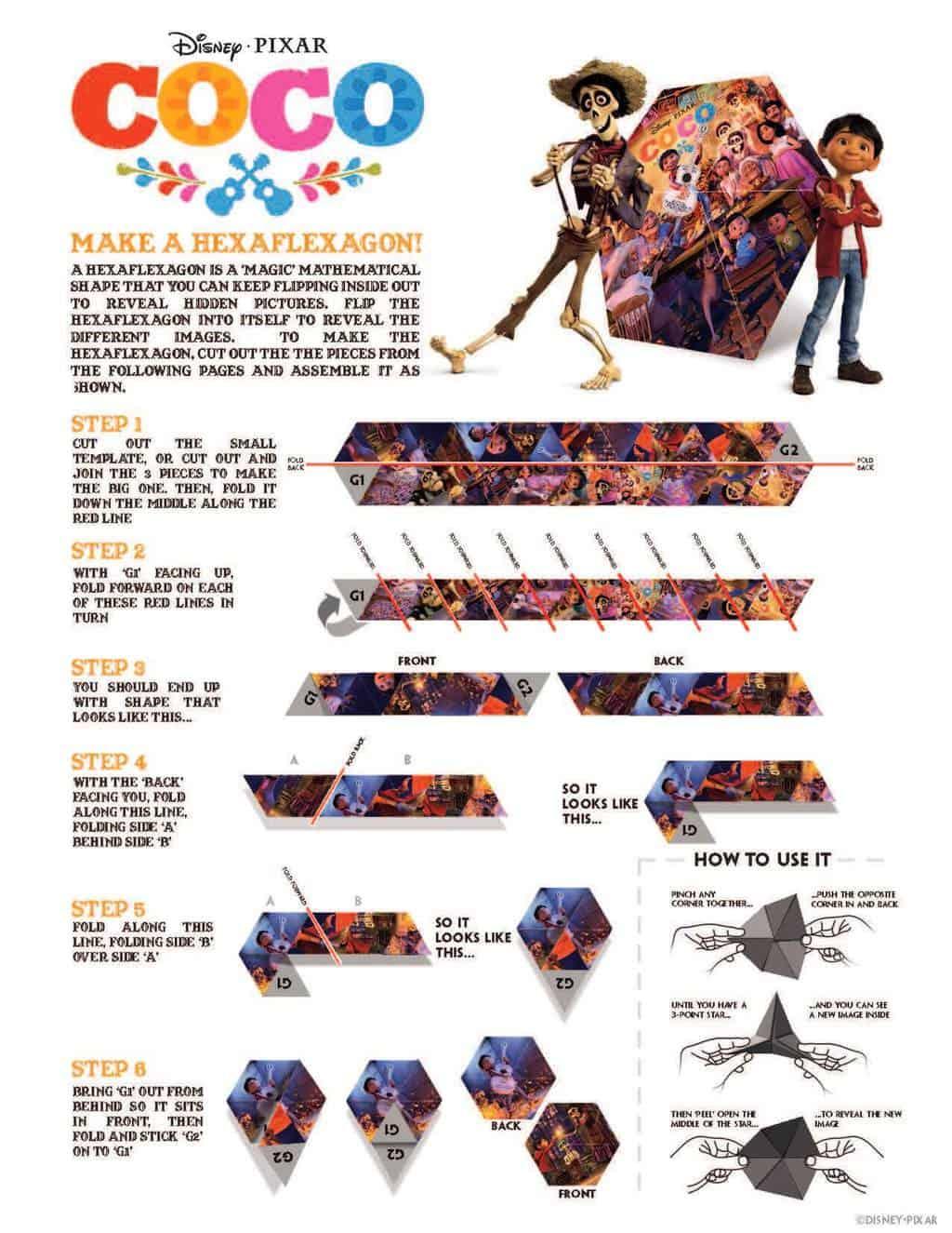 Disney S Coco Movie Printables Activity Sheets Made With Happy