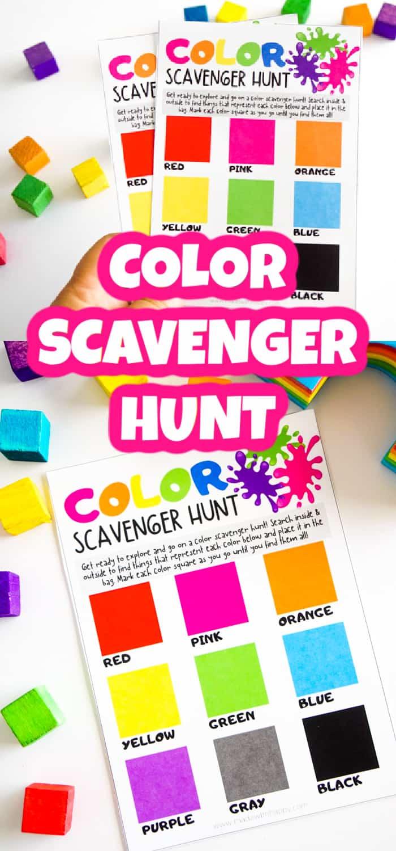 Scavenger Hunt for Toddlers