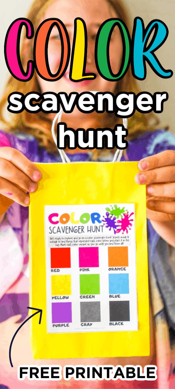 Color Scavenger Hunt