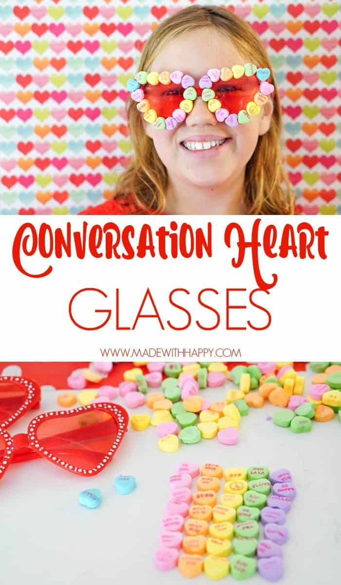 Conversation Heart Glasses. Valentines Crafts with Kids.  Kids Valentines Crafts. Heart Shaped Glasses Pink.  Heart Shaped Glasses Red.  Red Heart Shaped Glasses. Valentines Clothing.
