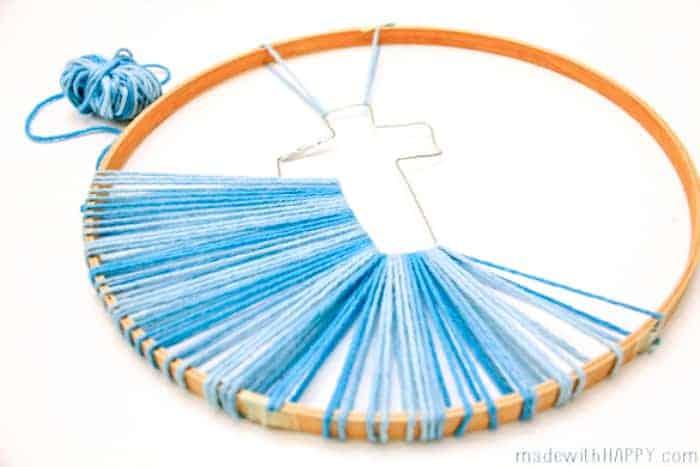 Easter Cross String Art