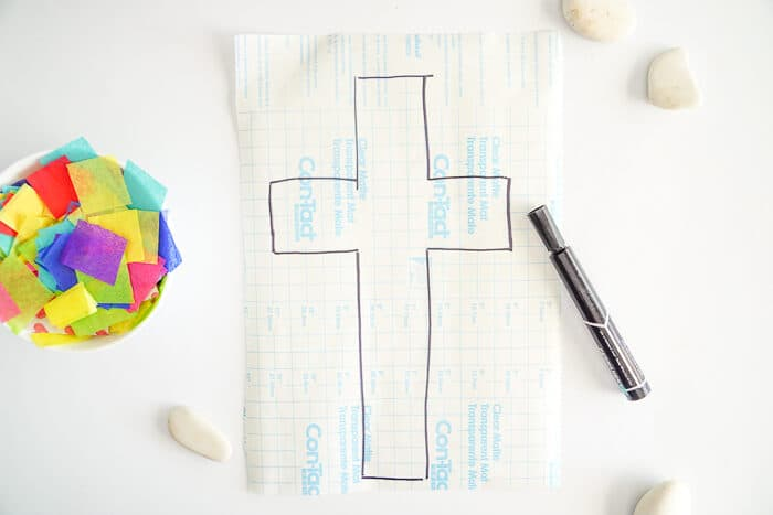 Christian Kids Crafts. This Easter Suncatcher Craft is perfect kids Easter craft. We're show you just how to make a suncatcher with tissue paper.