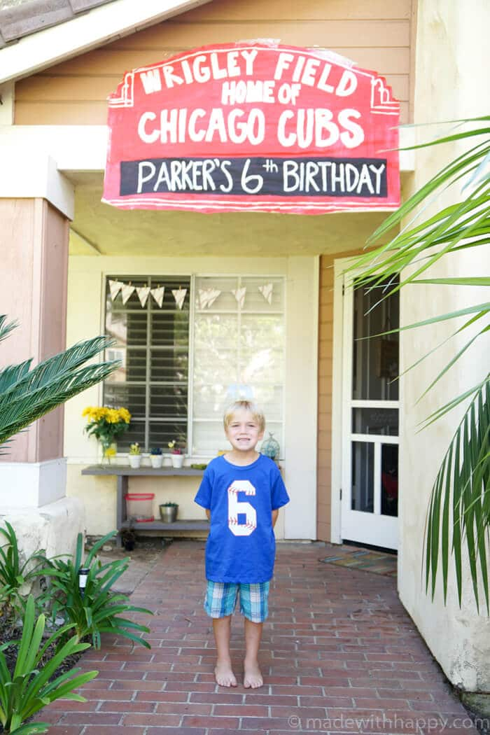 Cubs Birthday Party