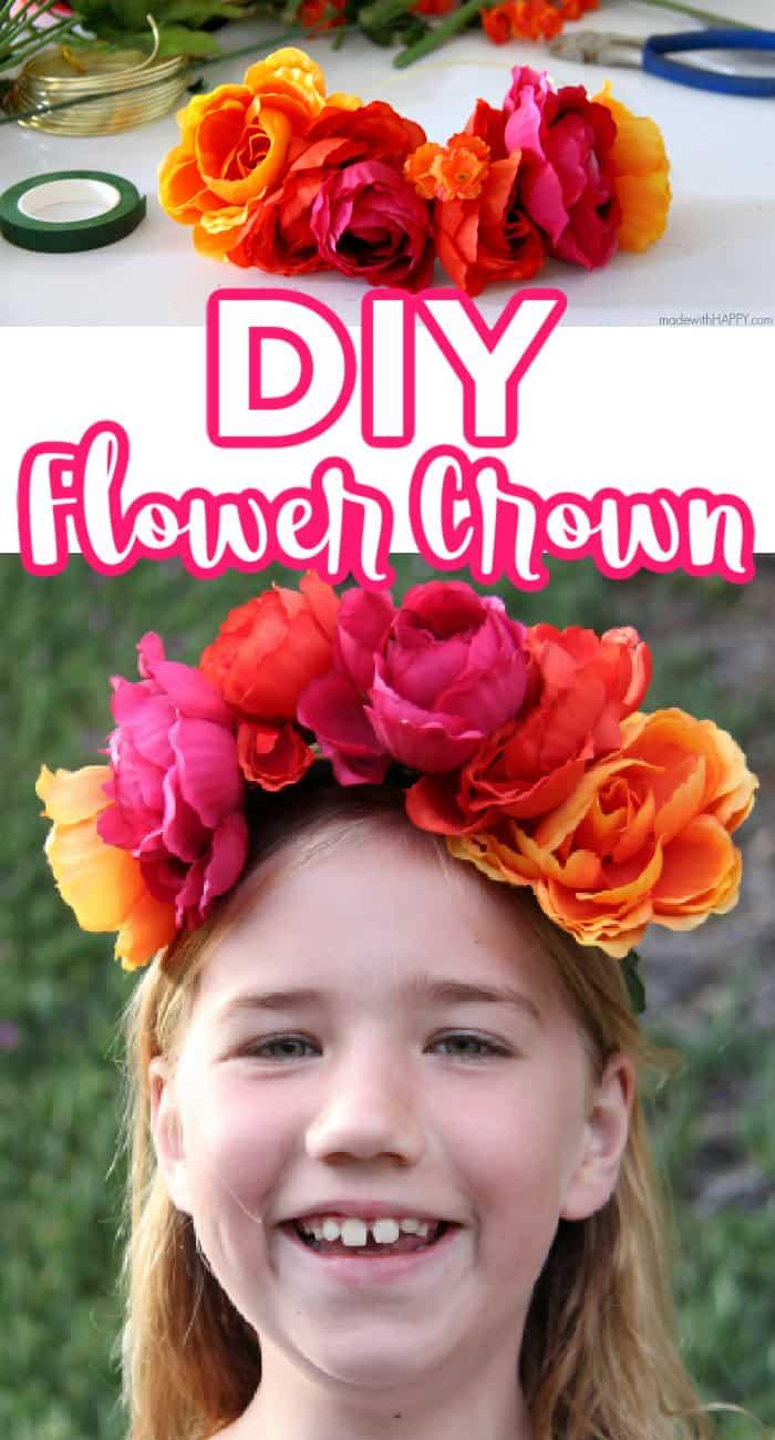 DIY Flower Corwn