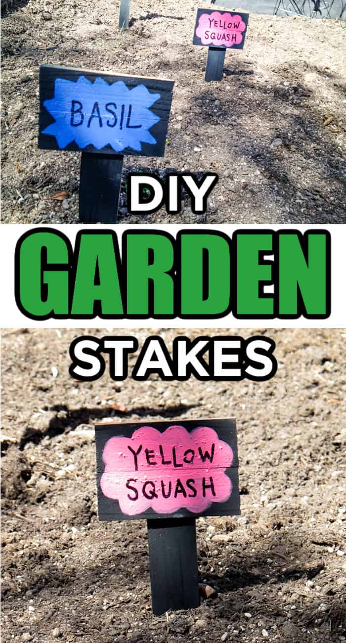 garden stake diy