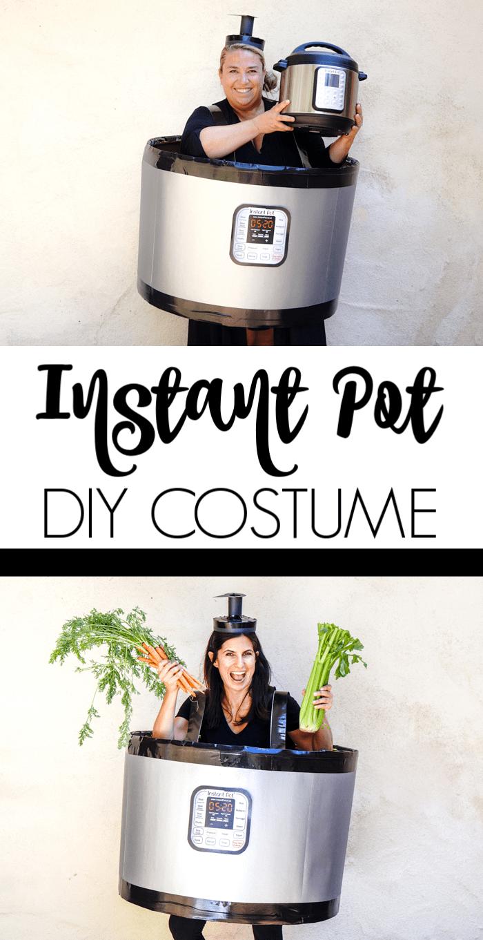 DIY Instant Pot Costume. Easy DIY Costumes for Halloween. Halloween Costume Ideas DIY. Do it yourself Halloween Costumes just in time for your costume party.