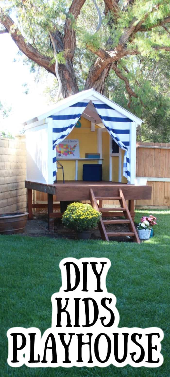 DIY Kids Playhouse Design