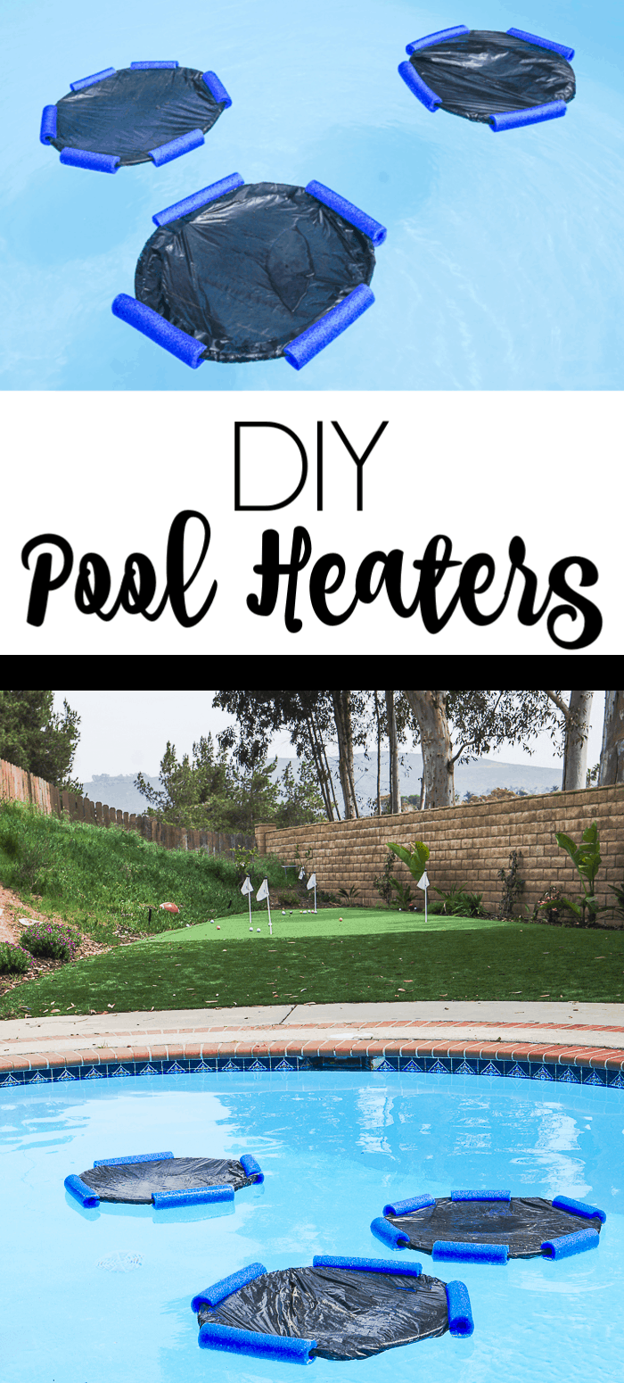 Make your own pool heaters. Looking for pool warmers that you can make yourself. These DIY pool heaters are easy and inexpensive swimming pool heaters that only cost a few dollars.