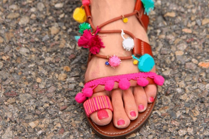 DIY Sandals for Summer