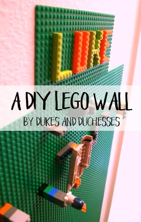 A DIY Lego Wall