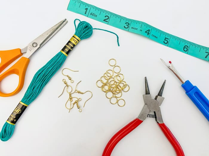 Supplies for Tassel Earings