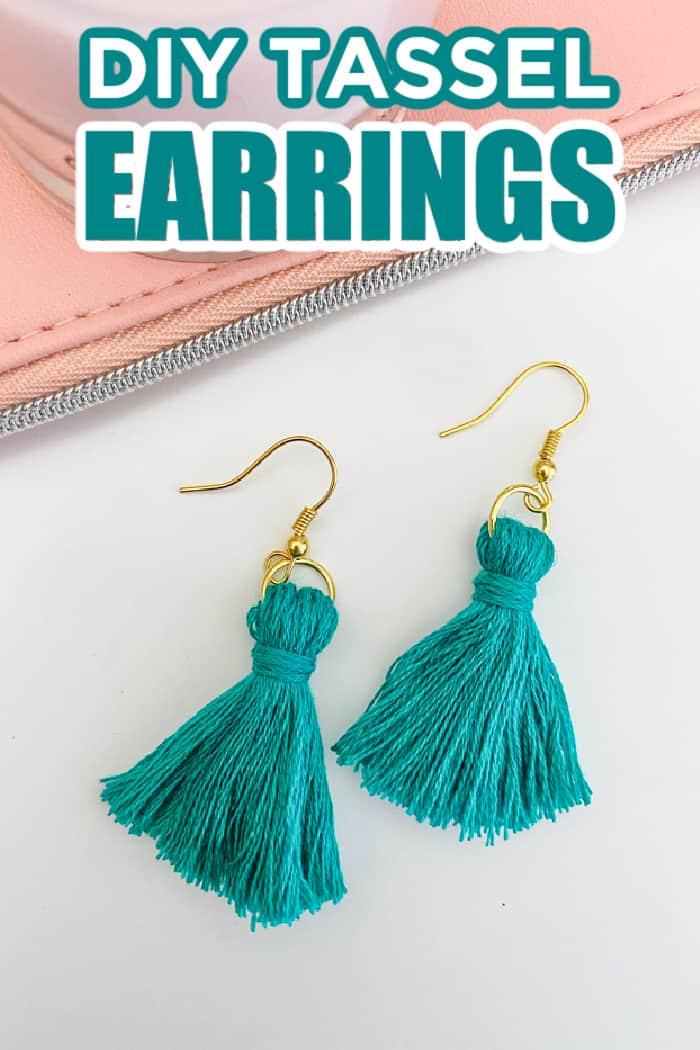 DIY Tassel Earing